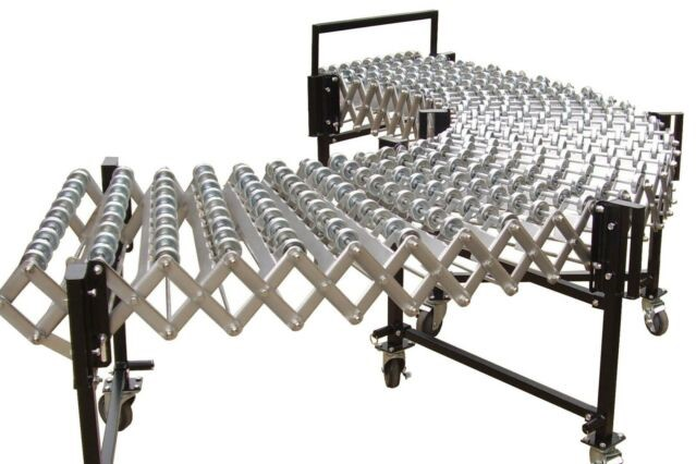 Extendable Skate and Roller Conveyors
